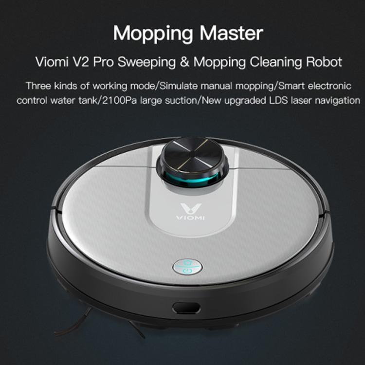 Xiaomi VIOMI V2 Pro Robotique Aspirateur Robot Vacuum